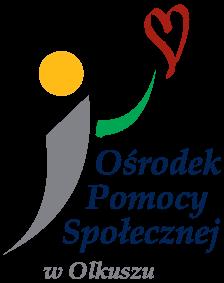 Obrazek przedstawiający logo Ośrodka pomocy społecznej w Olkuszu
